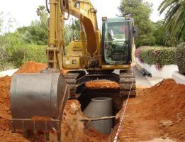Conduta de Reforço de Abastecimento de Água ao Litoral de Almancil